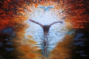 baptism of Christ art