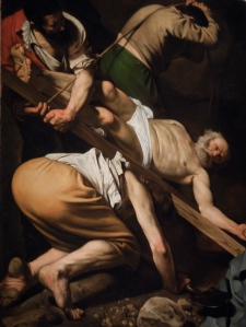 the Apostle Peter crucified upside down