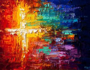 Cross Colorful
