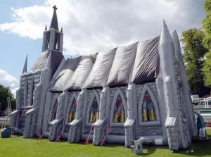 Jesus Church Inflatable